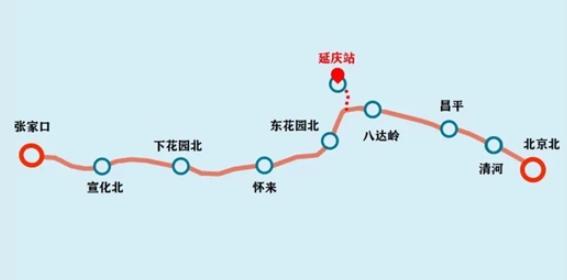 京张高铁延庆线正式开通,长达9.33公里