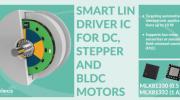 Melexis全集成LIN电机驱动器降低汽车行业机电一体化应用的材料成本