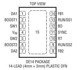 36V降壓型DC/DC轉換器LT3509H的性能特點及應用