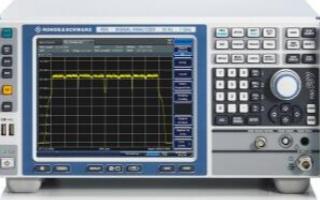 R&S FSV信號頻譜分析儀的功能特點和應用優勢分析