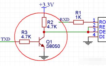 RS485通信自动收发电路的详细资料讲解
