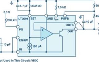 负线性稳压器在1MHz下具有的噪声和电源抑制比有多少