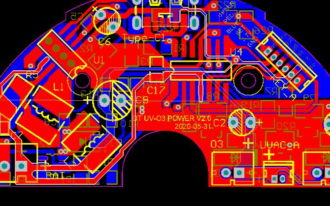 冰箱光触媒除臭器电路方案设计