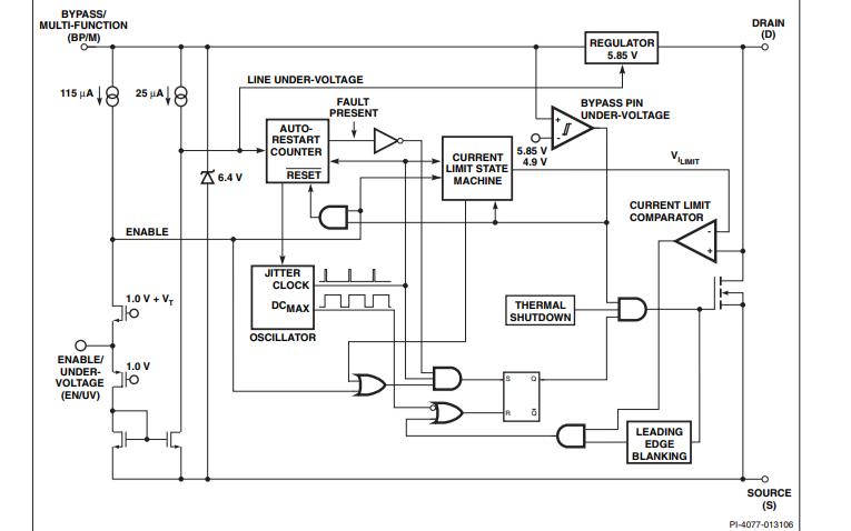 TinySwitch-III系列節能型離線開關的數據手冊免費下載