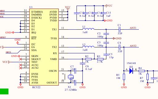 智能门锁的电路原理图