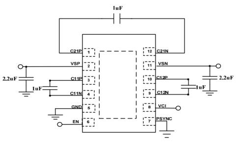 FP7721液晶显示器驱动电源芯片的数据手册免费下载