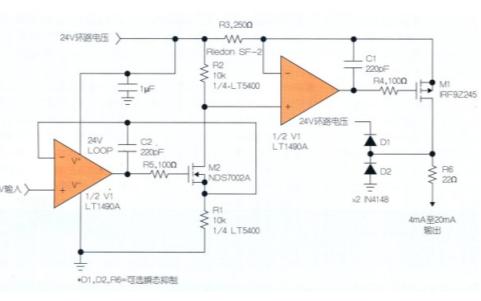 使用LT5400實現電阻器產生的誤差統計的資料概述