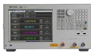 E4982A LCR表的技術指標及特性功能分析