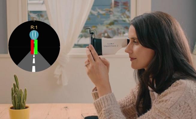 EyeQue推便攜式視覺測試系統智能配件