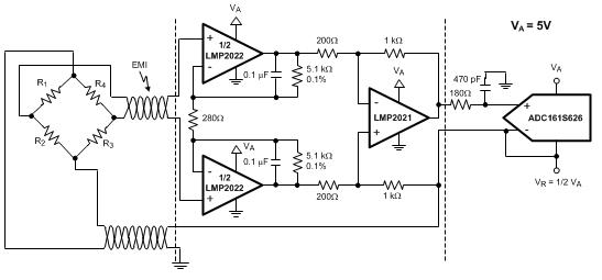 零漂移运算放大器LMP2021/2的主要特性及应用范围