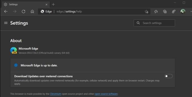 曝微软win10的Edge浏览器可自动节省流量