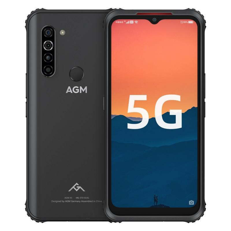 AGM X5户外三防5G手机发布:搭载紫光展锐T...