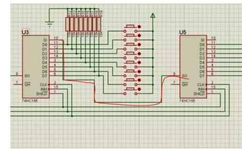 74HC165數字電路芯片的使用教程