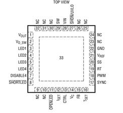 DC/DC升压模式转换器LT3599的性能特点及...
