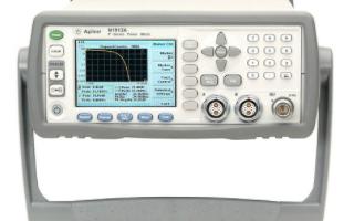 N1911A/12A P系列功率计的功能特点及应用