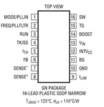 同步降壓型開關穩壓器控制器LTC3851的功能特點及應用