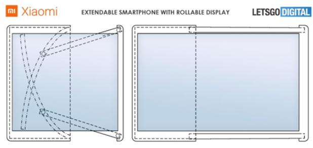 曝小米卷軸屏手機屏幕延伸度可達200%