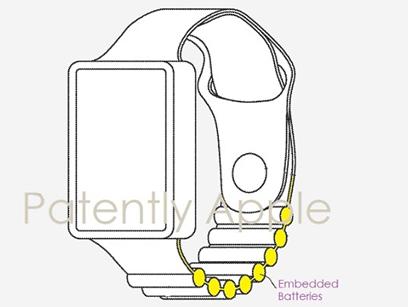 蘋果正研究內置電池的Apple Watch表帶