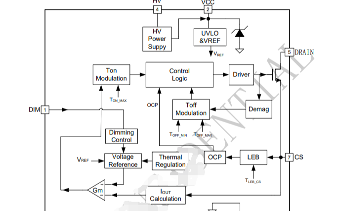 LED恒流控制芯片BP2306XJ的数据手册免费下载