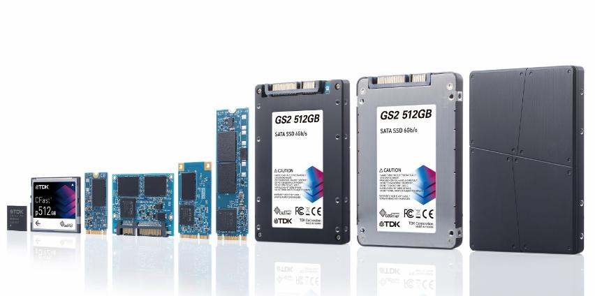 TDK推出使用3D NAND閃存的高可靠性SSD