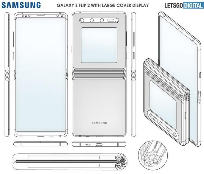 三星將為Galaxy Z Flip 2換更大的折疊外屏
