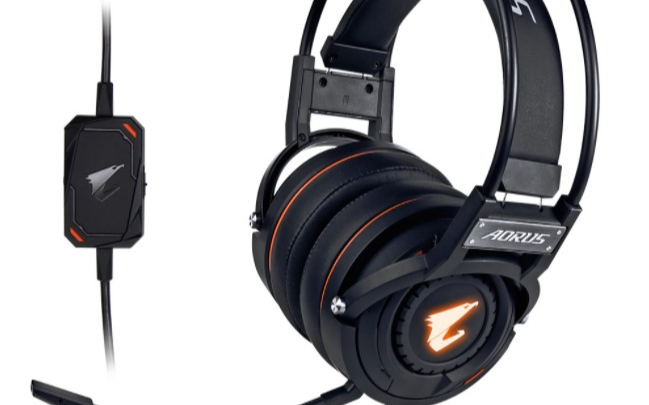 技嘉于發布 AORUS H1 游戲耳機,USB 接口具備虛擬 7.1 聲道功能