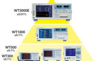高精度功率分析儀WT3000E的性能特點及應用
