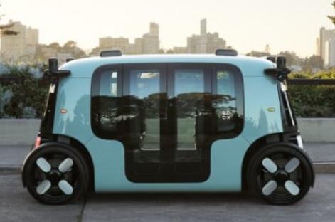 Zoox发布完全自动驾驶电动车,没有方向盘