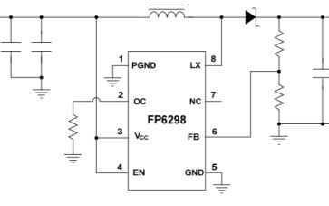 FP6298電流模式升壓DC-DC轉換器最新中文規格書