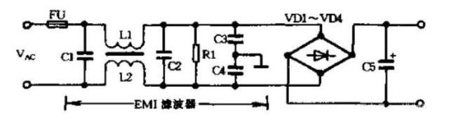 EMI的傳播方式,常見的EMI濾波器