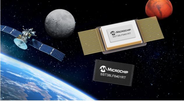 Microchip推出64Mb并行SuperFlash?闪存,丰富旗下应用于航天系统的COTS耐辐射产品阵容