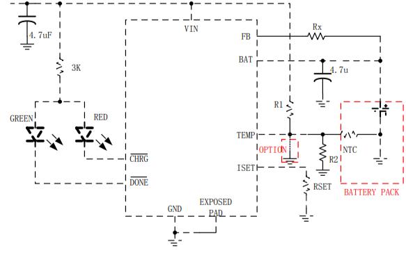 HM4051線性電池管理芯片的數據手冊免費下載
