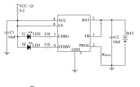 HM5158鋰離子電池充充芯片的中文數據手冊免費下載