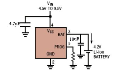 HM4054C微型線性電池管理芯片的數據手冊免費下載