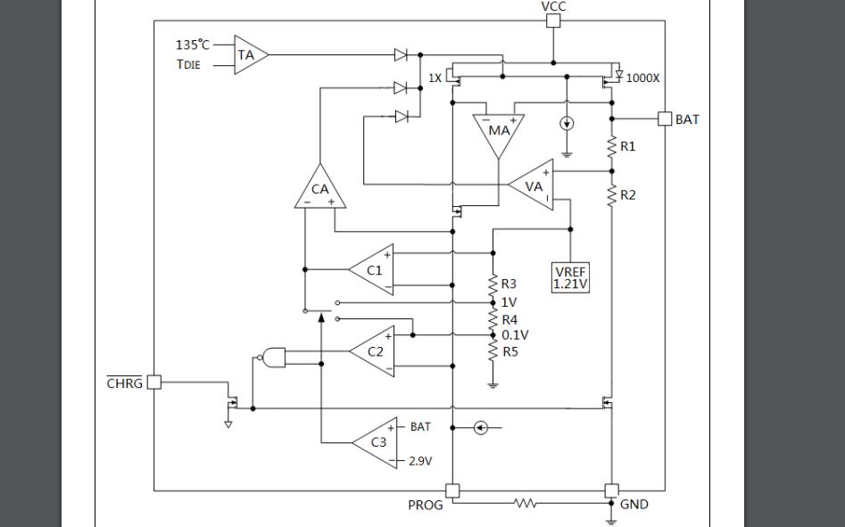 HM4054K線性鋰離子電池充電器的數據手冊免費下載