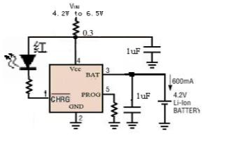 HM5054防反接線性鋰離子電池充電芯片的數據手冊免費下載