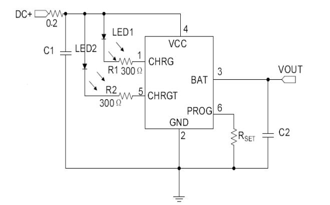 HM5055A線性鋰離子電池充電芯片的數據手冊免費下載