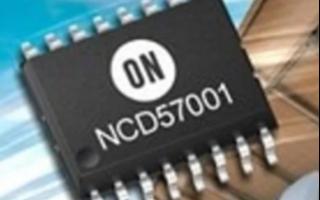 安森美半導體NCD57001門極驅動器IC的特點及應用