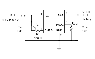 HU5215帶熱調節的獨立線性鋰離子電池充電器芯片的數據手冊