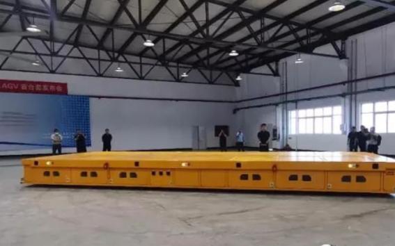 超重載AGV行業引領者天津朗譽參加上海寶馬工程機械展