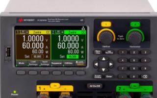 Keysight EL30000系列台式直流电子负载的性能及应用范围