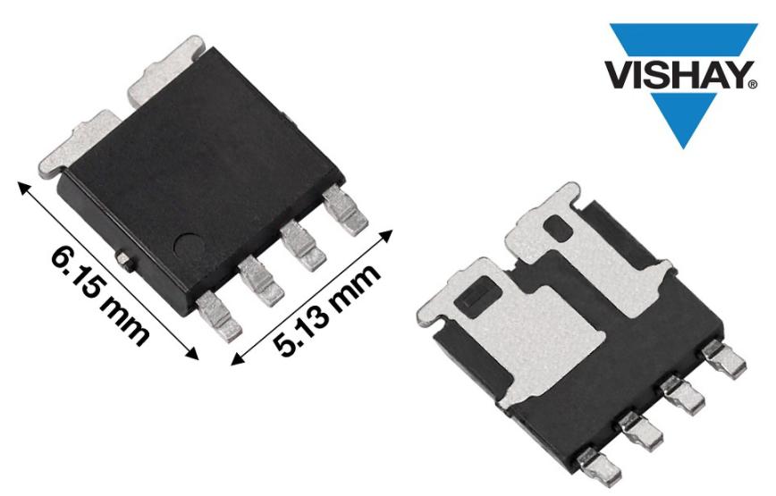 Vishay推出業界首款符合AEC-Q101要求的N通道60V MOSFET--- SQJ264EP