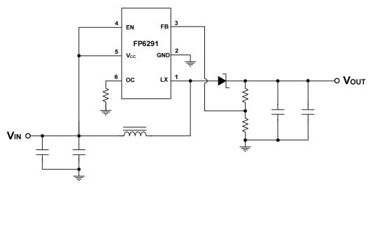 FP6291升壓電流模式PWM轉換器的中文數據手冊免費下載