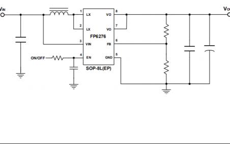 FP6276高效同步PWM升压变换器的数据手册免费下载