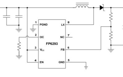 FP6293電流模式升壓DC-DC轉換器最新中文規格書