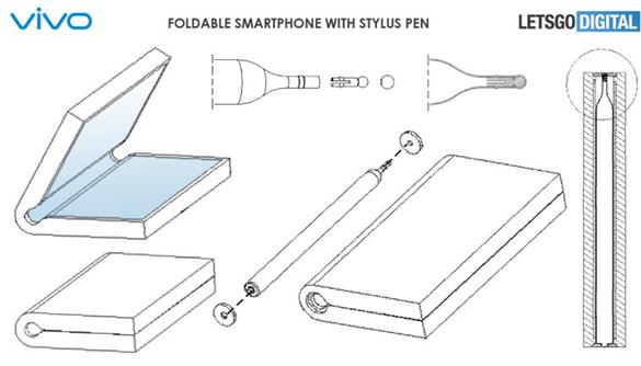 vivo折疊屏手機將配備磁性手寫筆
