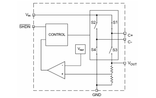 HM3200可调节电荷泵芯片的数据手册