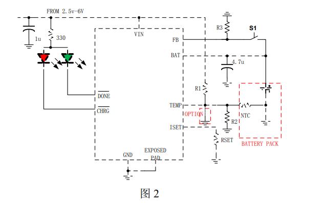 HM4051B充電管理芯片的數據手冊免費下載