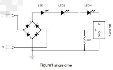 RM9003B LED恒流控制芯片的数据手册免费下载