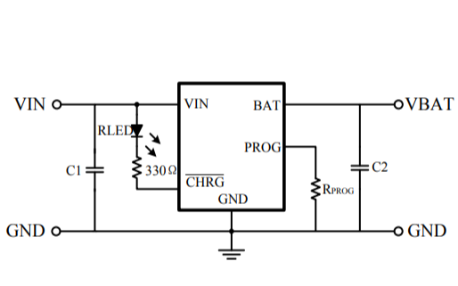 HM4055微型線性電池管理芯片的數據手冊免費下載